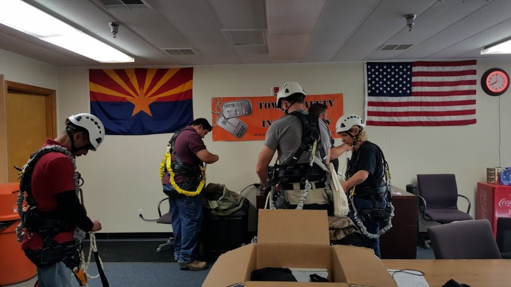 About us - Tower Safety and Instruction comtrain authorized climber