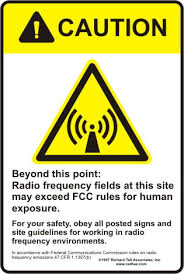 RF Radio Frequency safety awareness, radio frequency