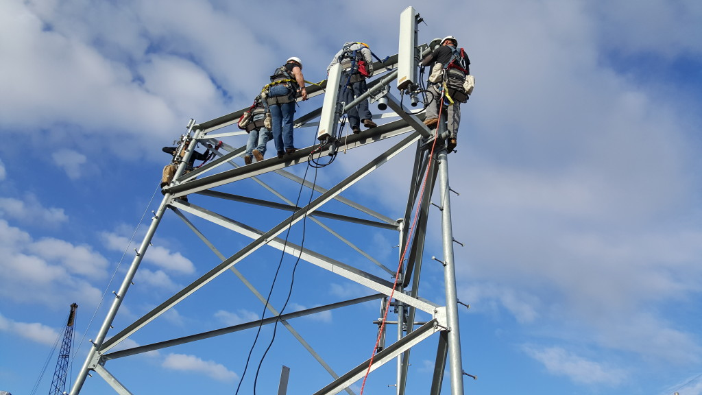 tower safety and rescue Authorized Climber