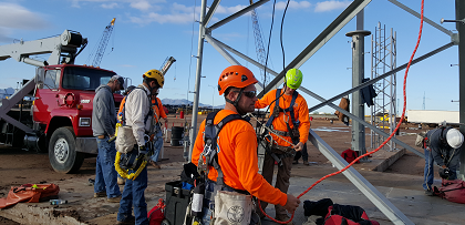 Tower safety and rescue cell tower Training